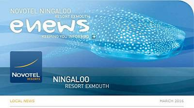 Novotel Ningaloo Newsletter - March 2016