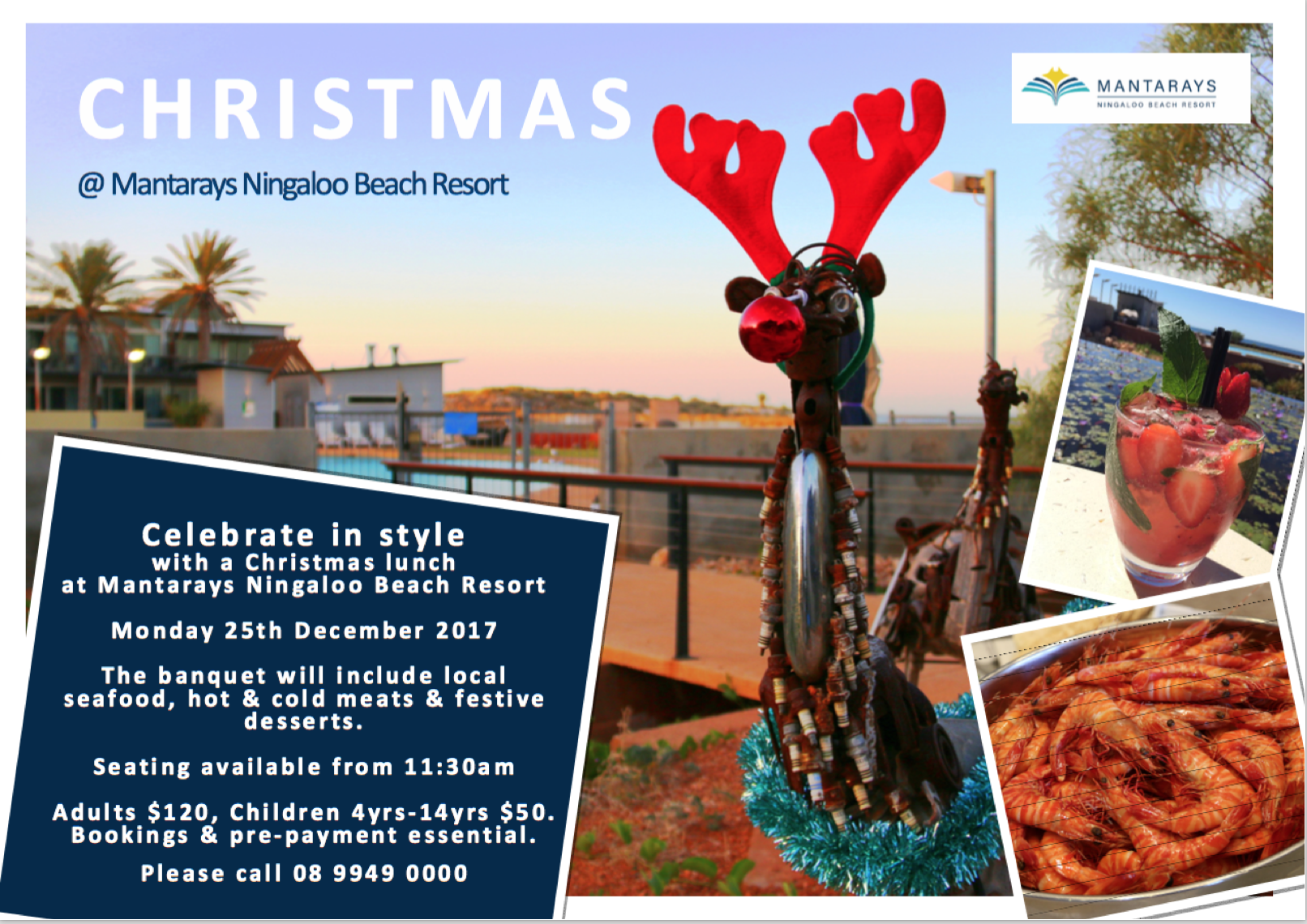 Christmas @ Mantarays Ningaloo